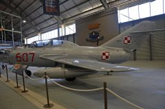 WSK MiG-15UTI 607 Polish Air Force, Fleet Air Arm Museum, Nowra Hill NSW