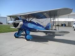 Waco UBF-2 NC13027, Western Antique Aeroplane and Automobile Musem (WAAAM)