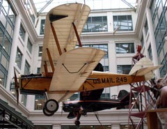 de Havilland DH-4 N249B, Smithsonian National Postal Museum