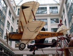 de Havilland DH-4 N249B, Smithsonian National Postal Museum