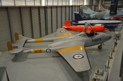 de Havilland DH.115 Sea Vampire T.22 XG766 808 Royal Australian Navy, Fleet Air Arm Museum, Nowra Hill NSW