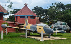 Aermacchi MB.326F G-707, Armed Forces Museum, Kumasi, Ghana