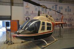 Bell 206B-3 Jet Ranger H8-1 38 01 Royal Thai Air Force, Royal Thai Air Force Museum Les Spearman