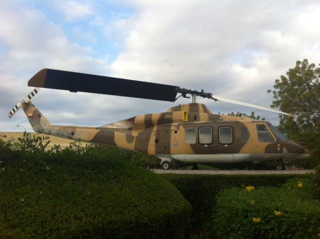 Bell 214ST, Muscat IAP, Oman