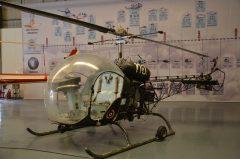 Bell OH-13H Sioux H7-9 15 6228 Royal Thai Air Force, Royal Thai Air Force Museum Les Spearman