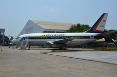 Boeing 737-2Z6 L11-12 6 22-222 Royal Thai Air Force, Royal Thai Air Force Museum Les Spearman