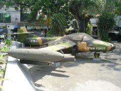 Cessna A-37B Dragonfly 01285 U.S. Air Force,  War Remnants Museum Bảo tàng Chứng tích Chiến tranh