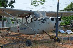 Cessna O-1A Bird Dog T2-2715 2604 60406 Royal Thai Air Force, Royal Thai Air Force Museum Les Spearman