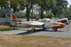 Cessna T-37B Tweety RR.09-13 09 Royal Thai Air Force, Royal Thai Air Force Museum Les Spearman