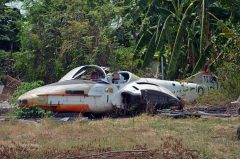 Cessna T-37C Tweety stored Royal Thai Air Force, Royal Thai Air Force Museum Les Spearman