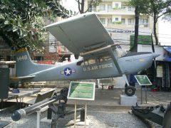 Cessna U-17B Skywagon 1448 U.S. Air Force,  War Remnants Museum Bảo tàng Chứng tích Chiến tranh