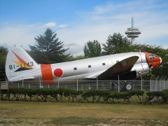 Curtiss C-46A Commando 91-1143 Japan Self-Defense Forces, Tokorozawa Aviation Museum 所沢航空発祥記念館