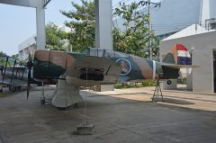 Curtiss Hawk 75N Royal Thai Air Force, Royal Thai Air Force Museum Les Spearman