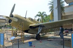 Curtiss SB2C-5 Helldiver J3-4 94 Royal Thai Air Force, Royal Thai Air Force Museum Les Spearman