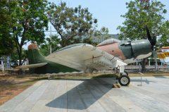 Douglas A-1H Skyraider 14 072 Royal Thai Air Force, Royal Thai Air Force Museum Les Spearman