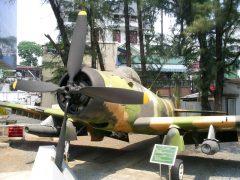 Douglas A-1H Skyraider 39674 Vietnam Air Force,  War Remnants Museum Bảo tàng Chứng tích Chiến tranh