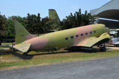 Douglas C-47A Dakota L2-39 15 547 Royal Thai Air Force, Royal Thai Air Force Museum Les Spearman