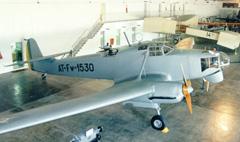 Focke-Wulf Fw-58 Weihe AT-Fw-1530, Museu Aeroespacial, Campo dos Afonsos, Brazil