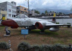 Gloster Meteor FR.9 FF-122 Fuerza Aerea Ecuatoriana, Museo Aeronautico de Quito