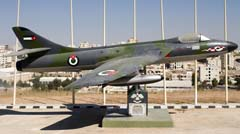 Hawker Hunter F.4,  Martyr's Memorial Park صرح الشهيد