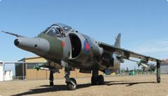 Hawker Siddeley Harrier GR.3 XZ129, Ashburton Aviation Museum, NZ