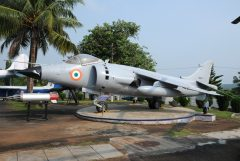 Hawker Siddeley Sea Harrier FRS.51 IN621 Indian Navy, Indian Naval Aviation Museum