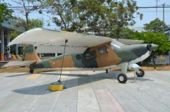 Helio U-10B Super Courier 7135 66-14332 Royal Thai Air Force, Royal Thai Air Force Museum Les Spearman