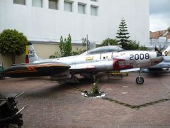 Lockheed AT-33A Silver Star FAC2008 Colombian Air Force, Museo Militar de Colombia