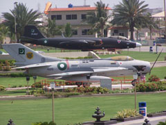 Martin B-57B Canberra and Shenyang F-6, Pakistan Air Force Museum