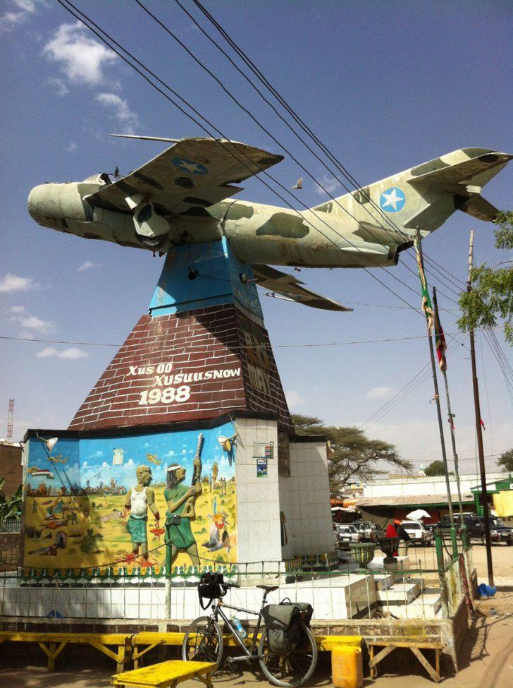 Mikoyan Gurevich MiG-15,  1988 Siad Barre War Memorial, Hargeysa, Somalia
