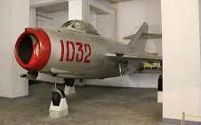 Mikoyan Gurevich MiG-15bis 1032, Victorius Fatherland Liberation War Museum