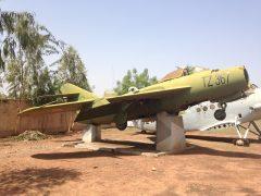 Mikoyan Gurevich MiG-17F TZ-367 Force Aérienne de la République du Mali, Musée de l'Armée Mali