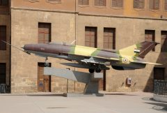 Mikoyan-Gurevich MiG-21F-13 658 Egyptian Air Force, National Military Museum المتحف الحربى القومى