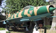Mikoyan Gurevich MiG-21PFM 1864, Hospice Sulaymaniyah التكية السليمانيةDamascus, Syria