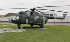Mil Mi-8T 678, Parque Tematico de la FAP
