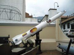 missile, Museo Militar de Colombia