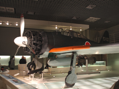 Mitsubishi A6M2 Zero Sen Model 21 53-122,  National Museum of Nature and Science 国立科学博物館