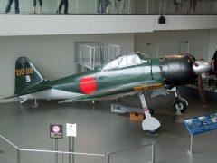 Mitsubishi A6M7 Zero Sen model 63 82729/210-118/B 210th Naval Air Squadron, Japanese Navy,  Yamato Museum