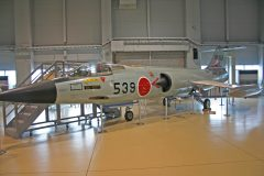 Mitsubishi F-104J Starfighter 46-8539 Japan Air Self-Defense Force, IsHikawa Prefectural Aviation Plaza