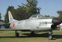 North American F-86D Sabre 04-8209, Gifu Base Museum 航空自衛隊岐阜基地