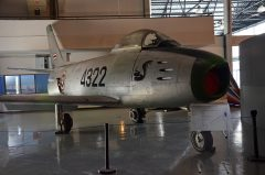 North American F-86F Sabre Kh17-27 04 4322 5060 Royal Thai Air Force, Royal Thai Air Force Museum Les Spearman
