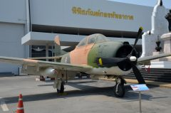 North American T-28D Trojan 0-37661 Royal Thai Air Force, Royal Thai Air Force Museum Les Spearman