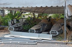 Northrop F-5 Freedom Fighters stored Royal Thai Air Force Museum Les Spearman