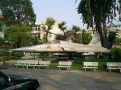 Northrop F-5A Freedomfighter 10271 Vietnam Air Force,  Ho Chi Minh City Museum Bảo tàng Thành phố Hồ Chí Minh