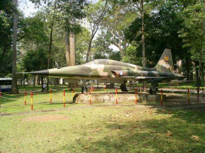 Northrop F-5E Tiger II 01638 Vietnam Air Force, The Independence Palace Dinh Độc Lập