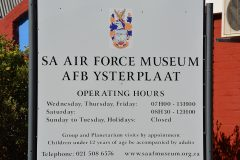 South African Air Force Museum Cape Town, Ysterplaat