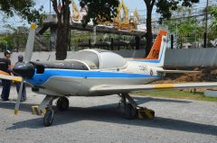 SIAI SF260MT RR.08-17 08 Royal Thai Air Force, Royal Thai Air Force Museum Les Spearman