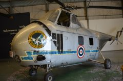 Sikorsky S-55 H3-3 97 6313 Royal Thai Air Force, Royal Thai Air Force Museum Les Spearman