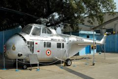 Sikorsky S-55C IZ1590 Indian Air Force, Air Force Museum, New Dehli
