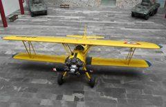 Stearman PT-17 Kaydet EPS-6092, Museo del Ejército y Fuerza Aérea Mexicanos, Puebla Mexico